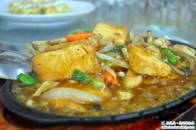 萬曏磚窯雞鐵板豆腐