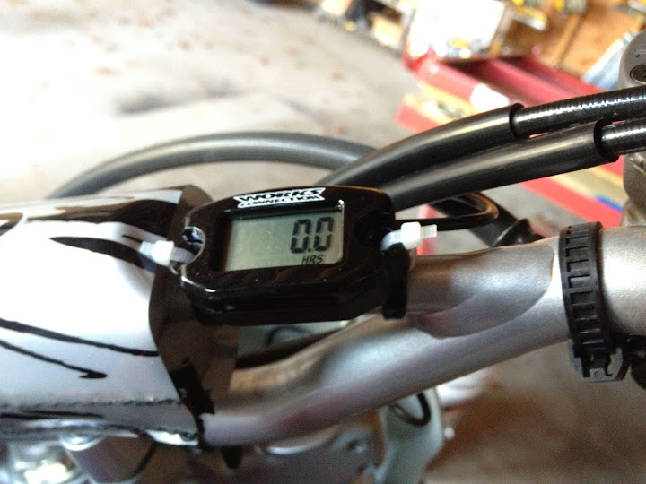 Hour Meter install location on 230F - CRF's Only Forums