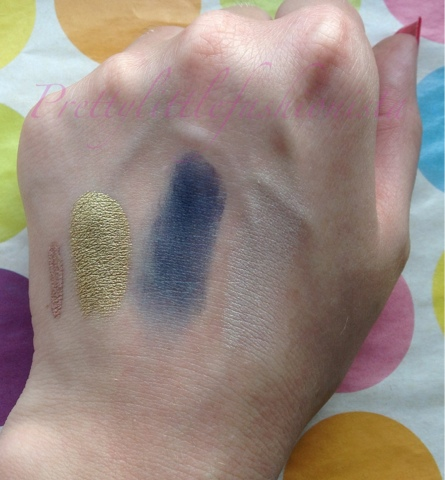 Illamasqua Mystery Box Swatches