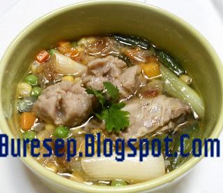 resep sup ayam kampung dari buresep