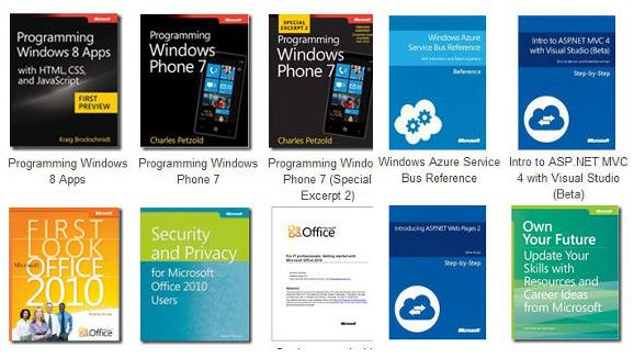 eBooks Microsoft