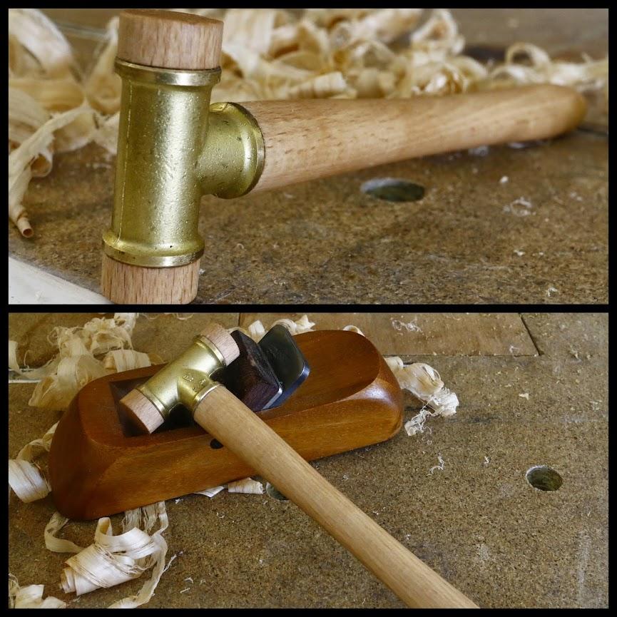 Un mini maillet pour le réglage des rabot en bois Mini%2Bmaillet1-001