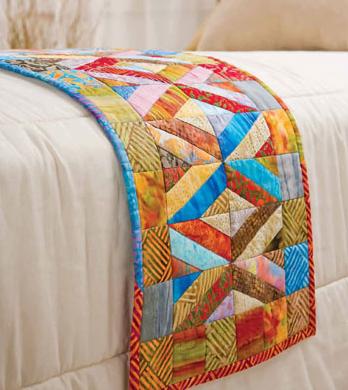 quilt bed runner 2