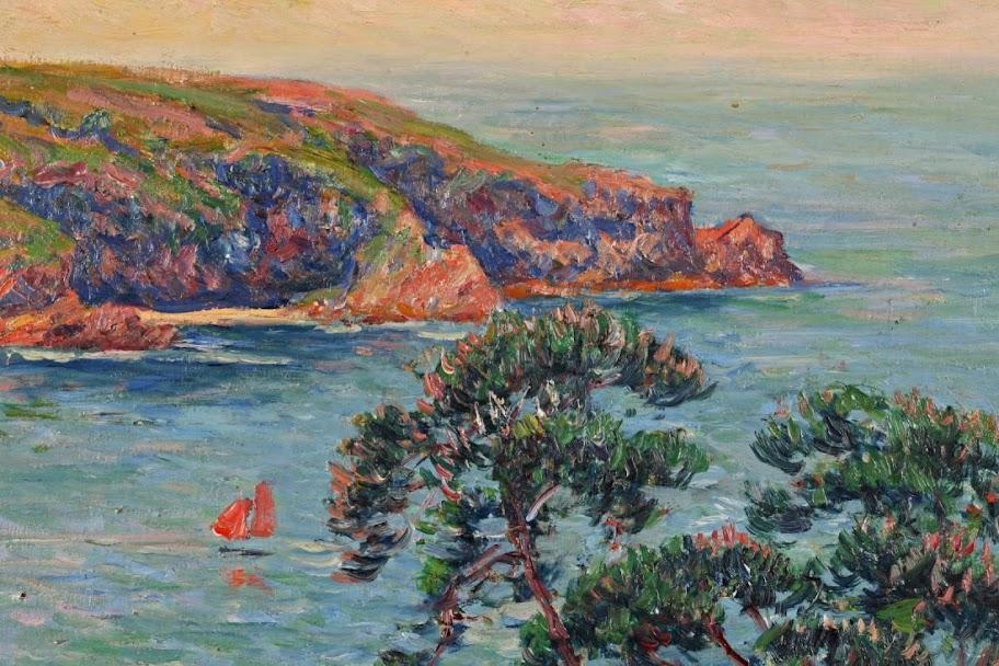 Henry Moret - Cotes de Bélon, Finistère 1911