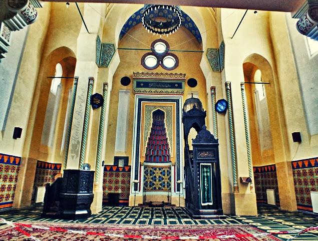 interior marea moschee carol constanta