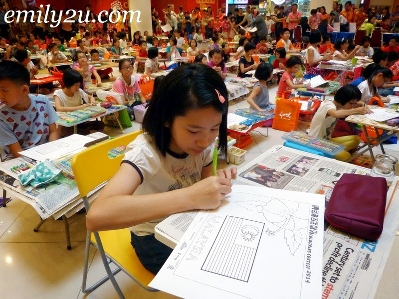Merdeka 2014 Children's Colouring Contest
