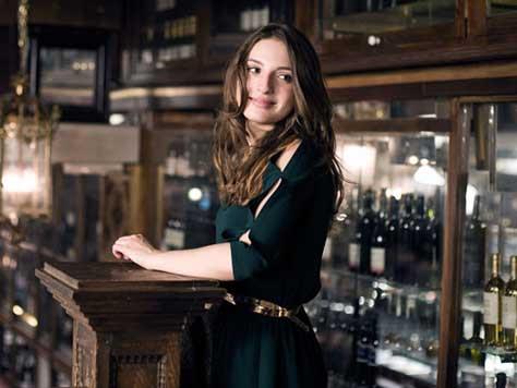María Valverde, en el bar