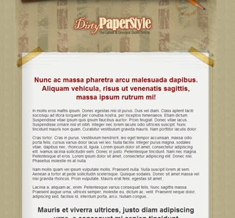 Sales Page | DirtyPaperStyle