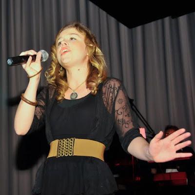 Tolle Stimme: Bianca Bruzek aus Müllheim belegte den dritten Platz. Im Vorjahr wurde die symphatische Schülerin vom Markgräfler Gymnasium noch Siebte.