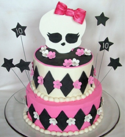 Monster High Freaky Fab Blog: Pasteles de Monster High parte 2