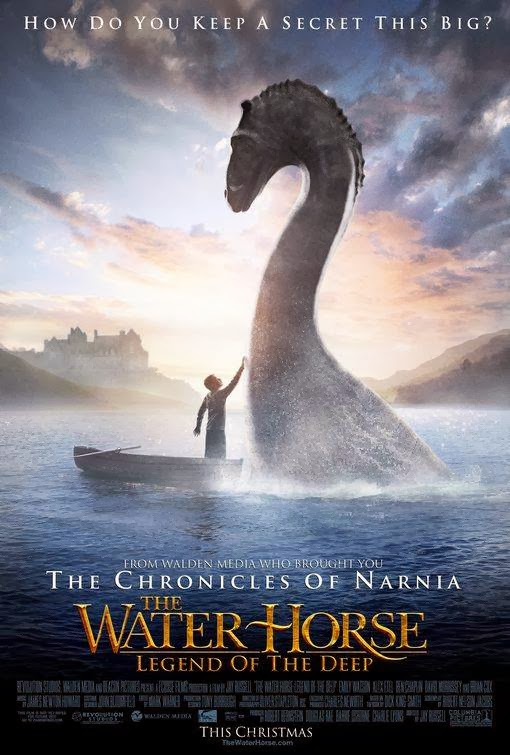Poster Of The Water Horse (2007) Full Movie Hindi Dubbed Free Download Watch Online At Alldownloads4u.Com