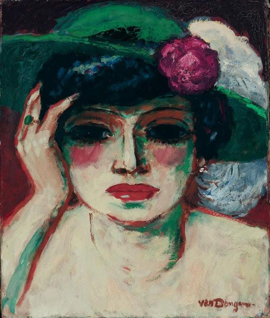 Kees Van Dongen - Portrait of Fernande