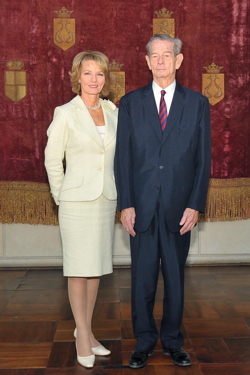 Principesa Moștenitoare Margareta și Regele Mihai I al României
