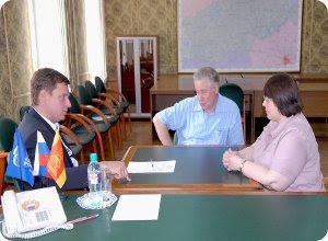 Андрей Епишин провёл приём граждан