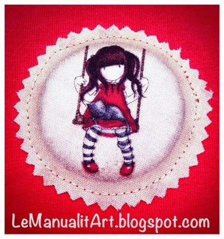 muñeca gorjuss de tela