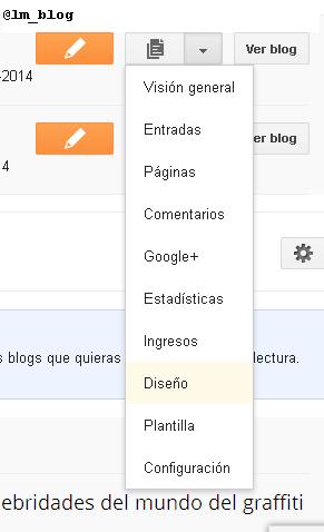Agregar Gadget/Widget en Blogger