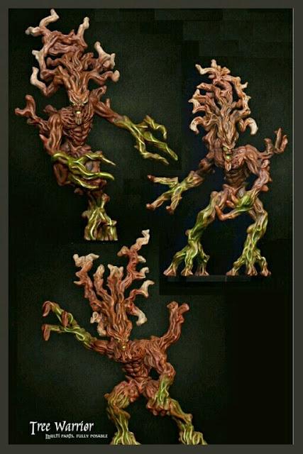 Raging Heroes Hombres árbol
