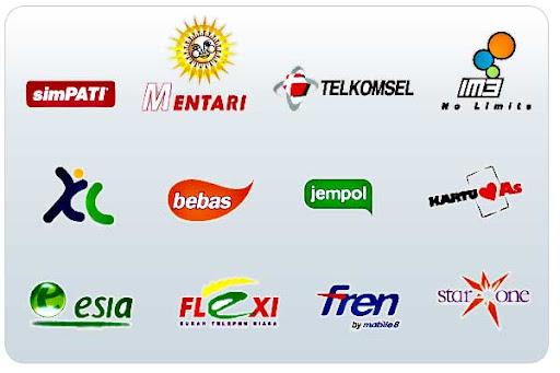 Koleksi logo operator seluler