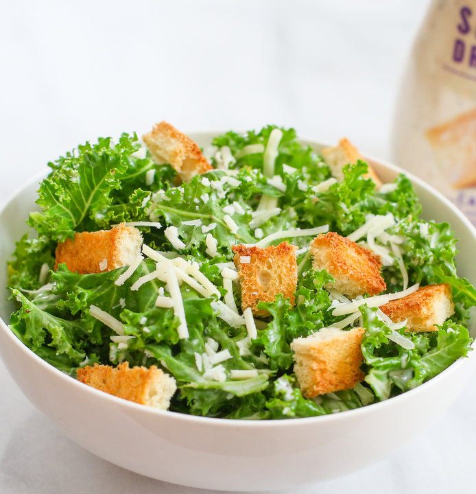 photo of a kale Kale Caesar Salad
