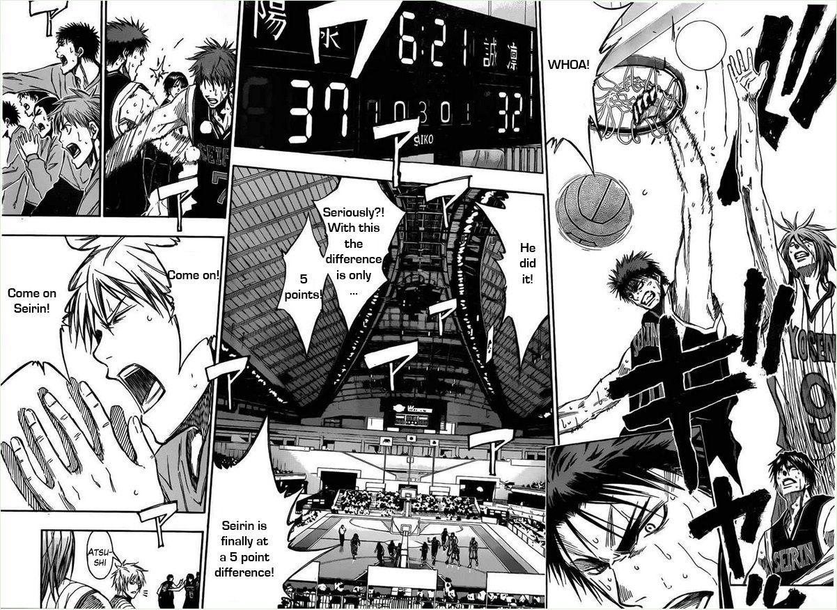 Kuroko no Basket Manga Chapter 155 - Image 10-11
