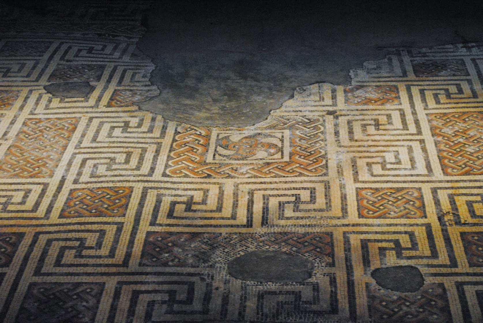 My Photos: England -- Mosaics -- Chedworth Roman Villa