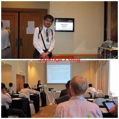 2012年夏天,我在越南胡志明市PACIS 2012學術研討會!