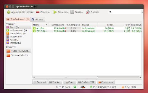 qBittorrent 3.0 su Ubuntu 12.04