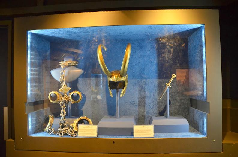 Asgardian Gear from the Thor: Treasures of Asgard Exhibit #ThorDarkWorldEvent