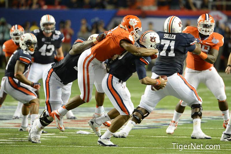 Clemson vs Auburn Photos - 2012, Auburn, Football, Vic Beasley