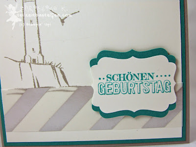 Stampin' Up! - In{k}spire_me #180 Uncharted Territory, Big Day, Zum großen Tag, SAB, Geburtstag, Birthday, Leuchtturm, Lighthouse