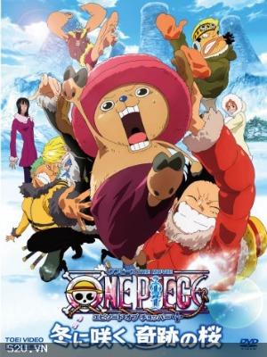 Phim One Piece The Movie 9 - Nở Vào Mùa Đông, Hoa Sakura Diệu Kỳ - One Piece The Movie 9: Bloom In The Winter, Miracle Sakura