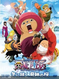 One Piece The Movie 9 - Nở Vào Mùa Đông, Hoa Sakura Diệu Kỳ - One Piece The Movie 9: Bloom In The Winter, Miracle Sakura - 2008