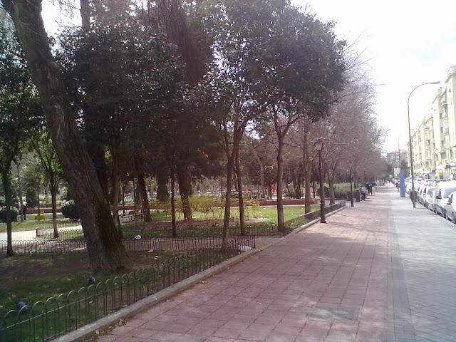 El Parque Calero. Parques de Ciudad Lineal.