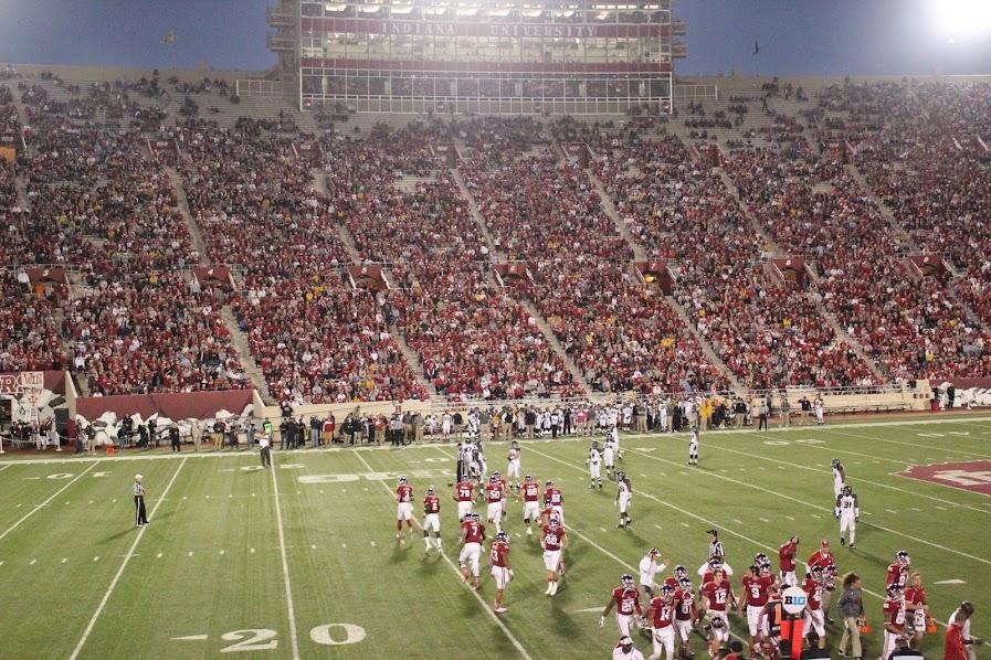 IU versus Missouri football