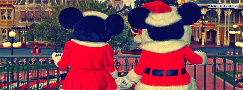 Capas para Facebook Mickey e Minnie