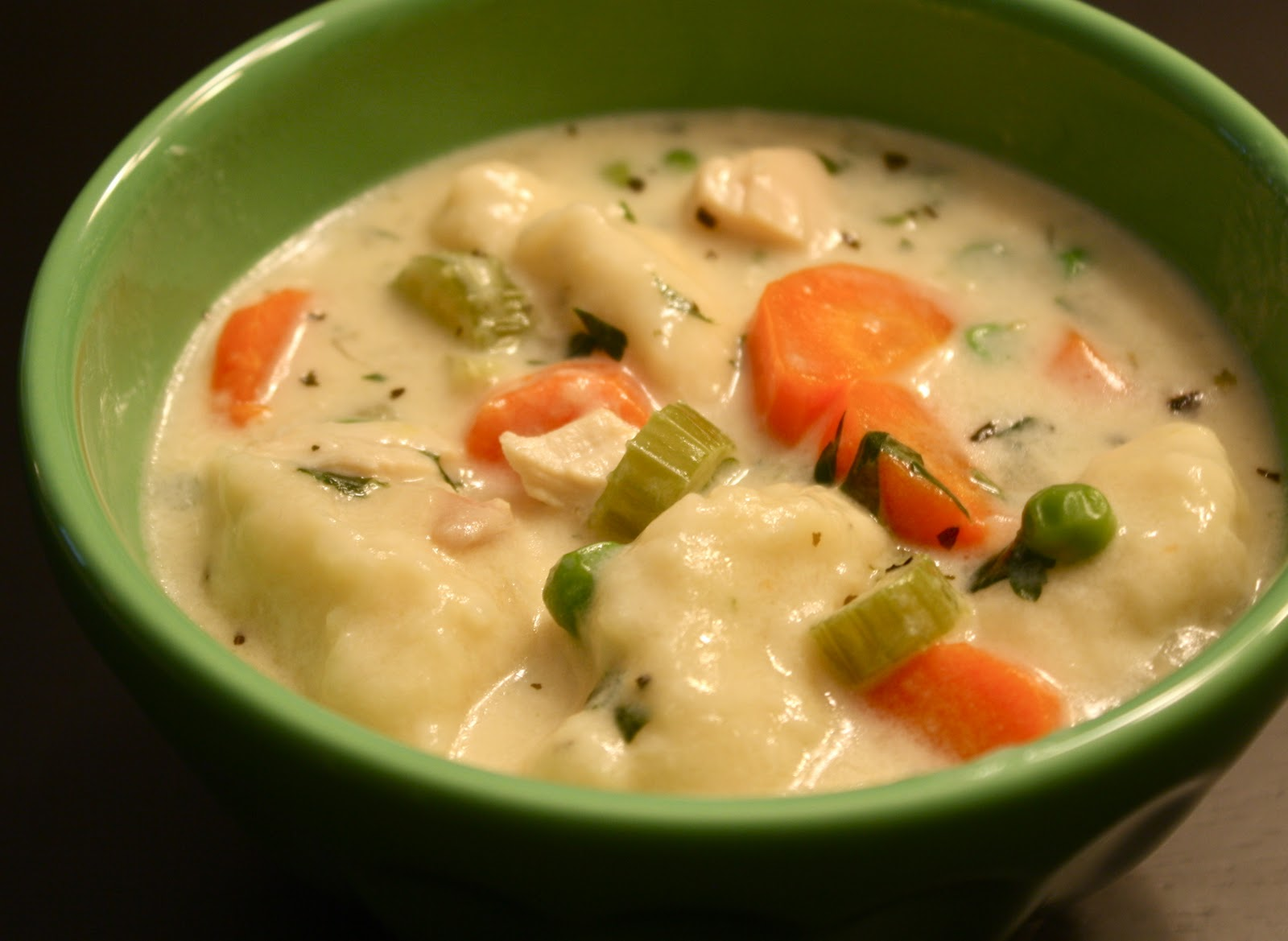 Kuki's Kookbook: Chicken and Dumplings