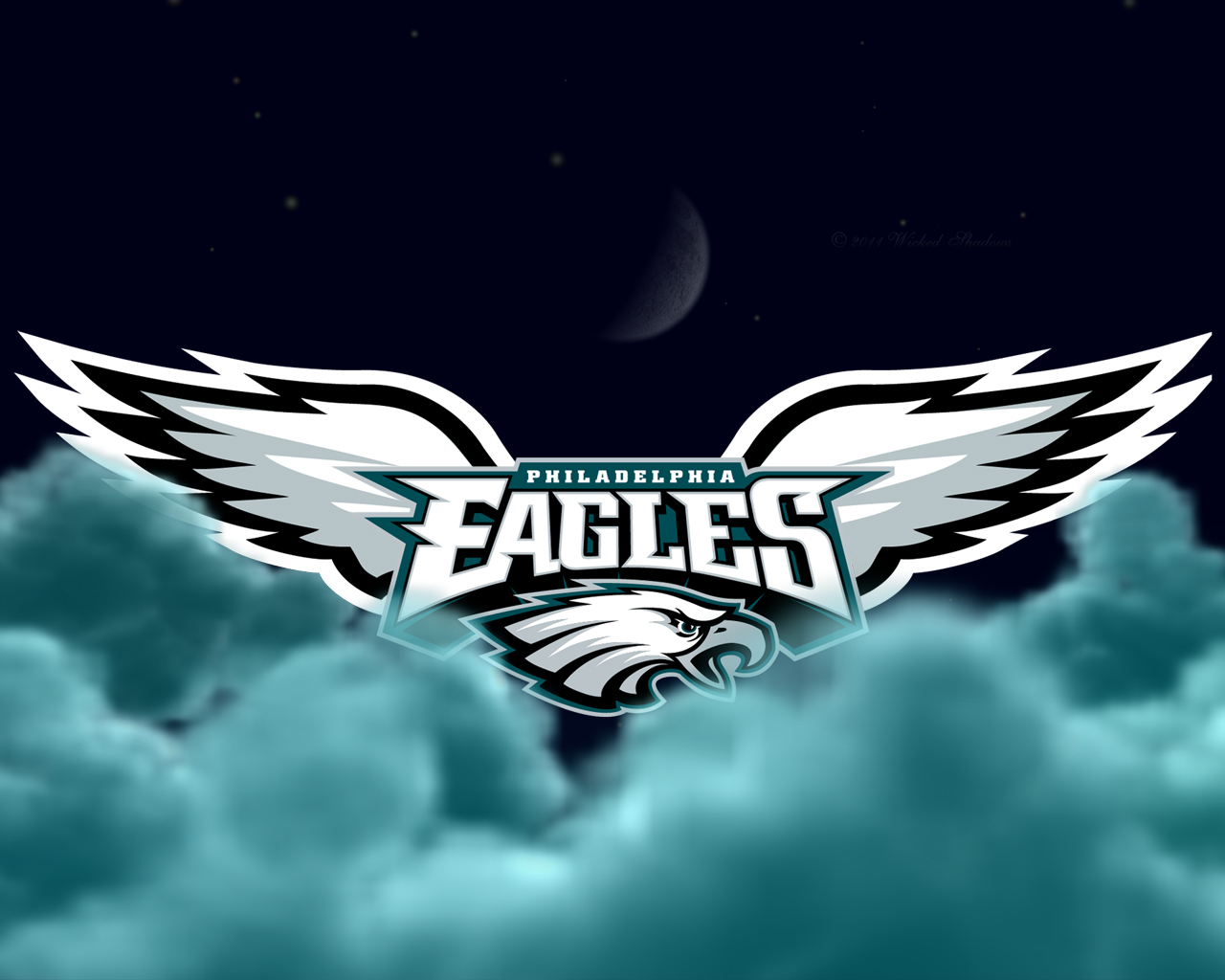 Wallpapers By Wicked Shadows Philadelphia Eagles Flying High Wallpaper
