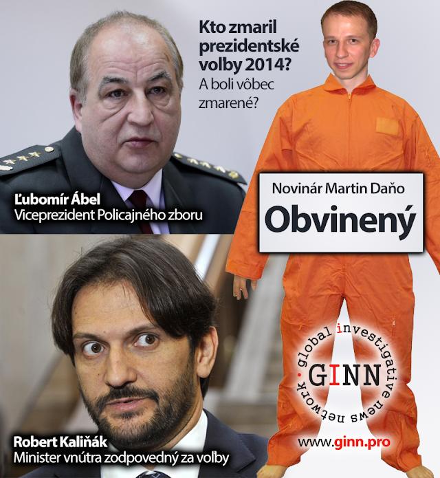 Kto zmaril prezidentské voľby 2014? A boli vôbec zmarené? Obvinený je novinár Martin Daňo