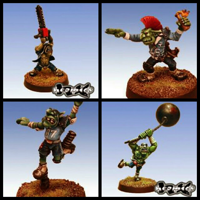Goblins armas secretas Blood Bowl Neomix