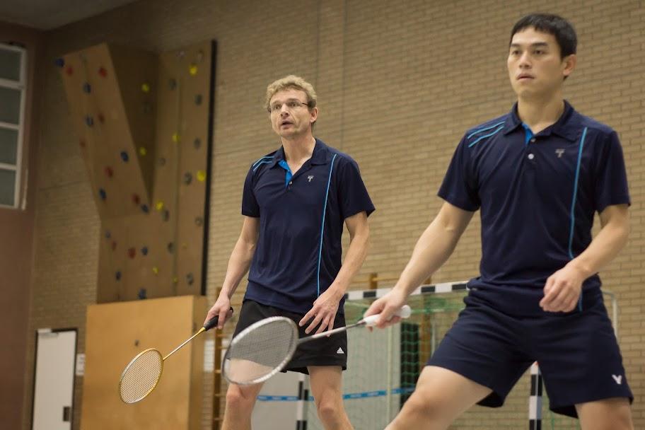 Heiko iund Ming im ersten Doppel