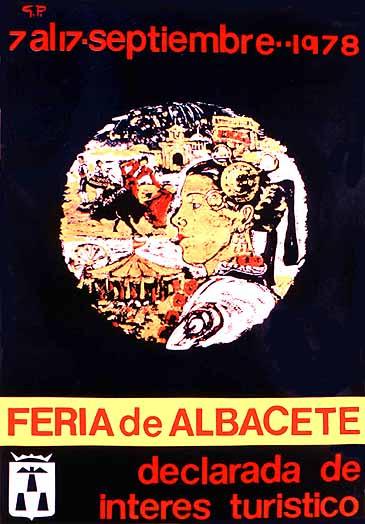 Cartel Feria Albacete 1978