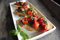 Oppskrift Bruchetta Tomater Pesto