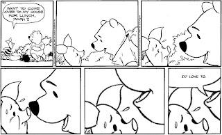 creepy winnie pooh comic