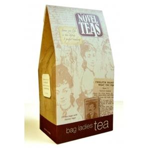 Literary tea bags