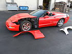 1998 Corvette Convertible Red on Black 5.7 cu 6 Speed Stick C5