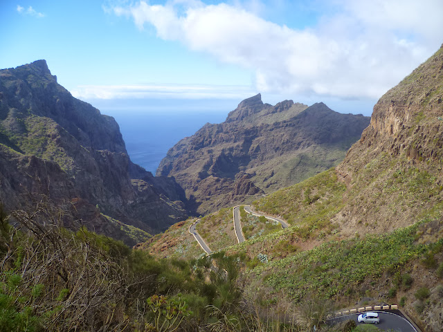 The road to Masca
