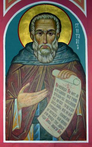 Venerable Vitalius Of Gaza