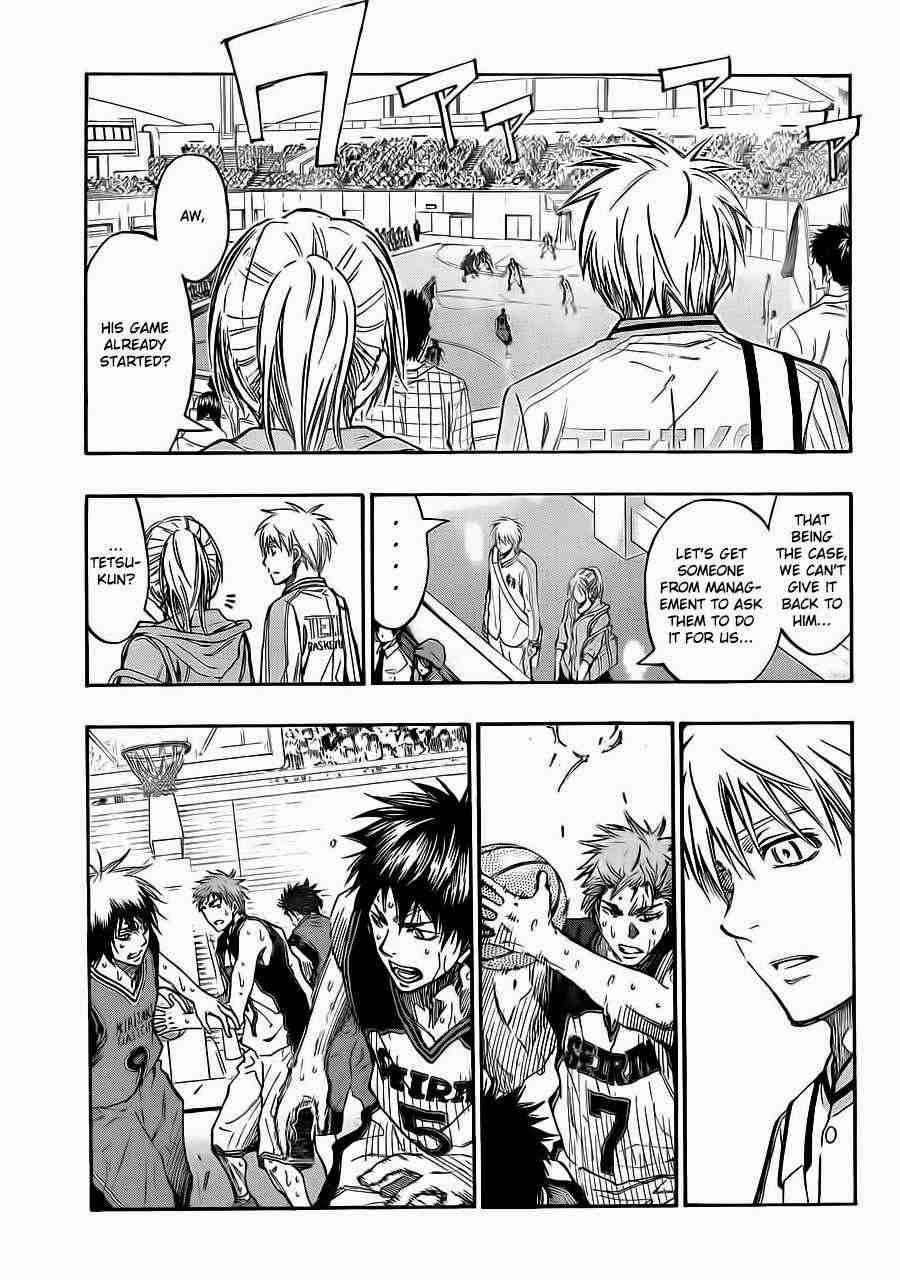 Kuroko no Basket Manga Chapter 224 - Image 16