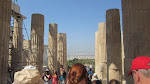 The view as you leave the Acropolis