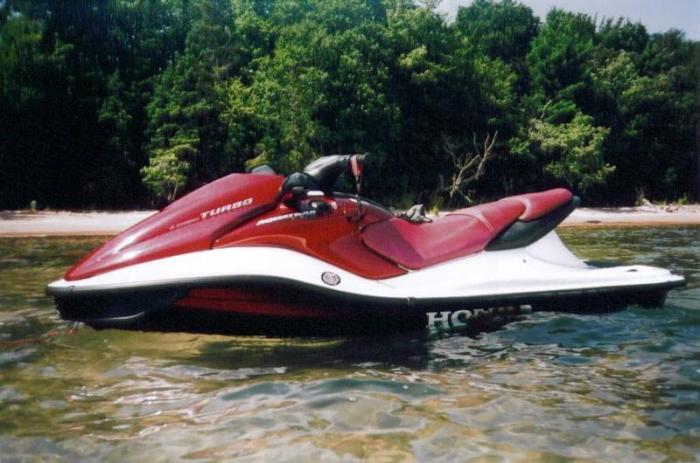 information  vehicle honda aquatrax   gpscape